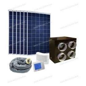 Système aérovoltaïque SMART'AIR V2