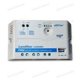 Epever PWM LS2024EU 12V / 24V - 20A with USB output