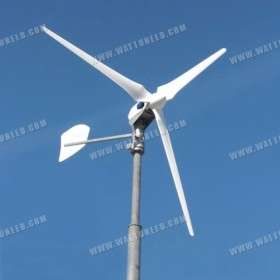 Wind turbine ANTARIS 7.5 kW network and water heater