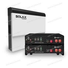 Kit EVOLUTION Solax 3kVA avec stockage lithium