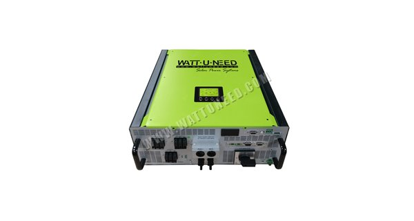 Onduleur hybride 5kW injection réseau - stockage Multisolar