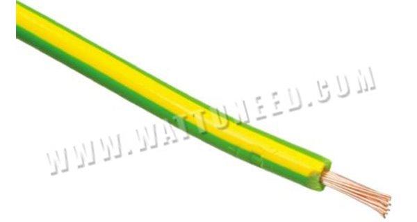 Câble de terre souple vert/jaune H07V-K ECA 16 mm2