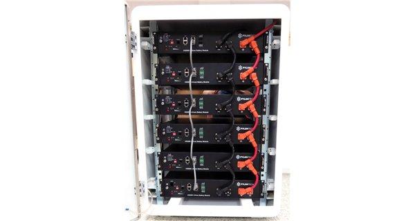 Solar battery lithium Pylontech