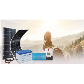 Solar Kit survivalist 200Wc