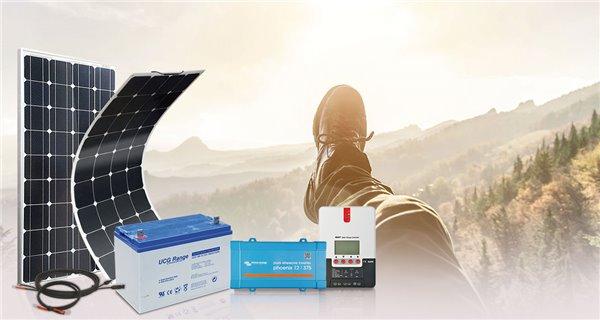 Kit solaire survivaliste 200Wc