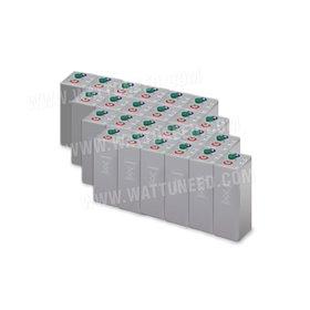 Fleet of 48 kWh batteries OPzV 48V