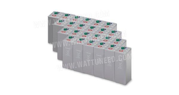 Parc de 72 kWh batteries OPzV 48V