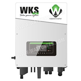 Onduleur hybride 4kW injection réseau - stockage WKS i4