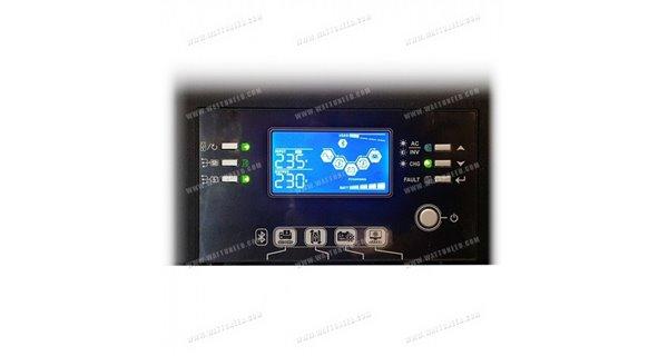 Onduleurs hybrides WKS Evo 10kVA 48V + 2 kits communication