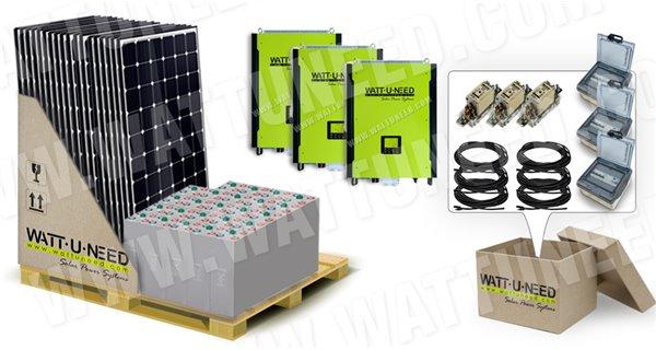 Kit photovoltaïque autonome classe 4