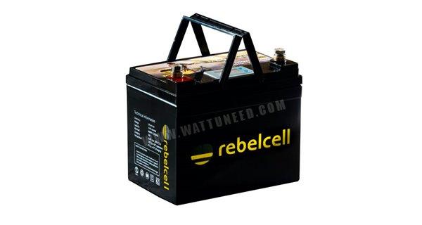 RebelCell 12V 50Ah Lithium battery