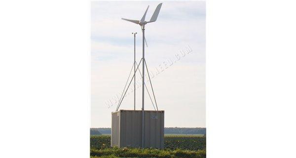 Superwind 1250W power supply 48V wind turbine