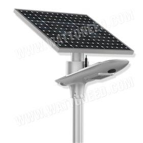 Lampadaire solaire - LED autonome WE 10W 5V - panneau de 50Wc
