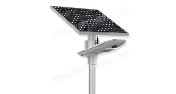 Solar Lamp Post Led Autonomous We 10w 50w Panel