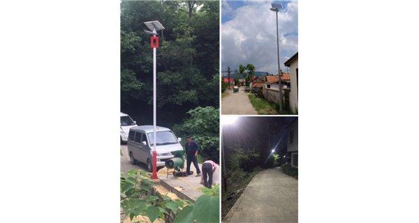 Solar Street Light - 150w Standalone LED - 50W Panel