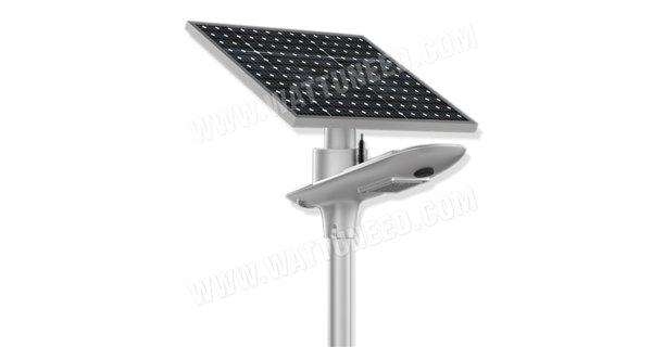 Lampadaire solaire - LED autonome SL10W 5V - panneau de 50Wc