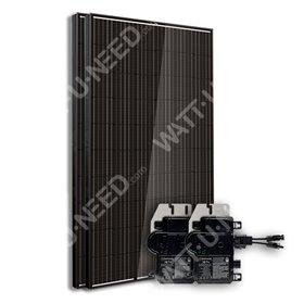 Kit 2 panneaux enphase autoconsommation-réinjection sans stockage
