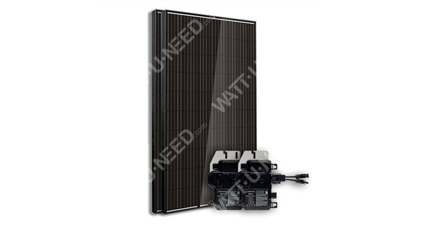 Kit 2 panels self-consumption / reinjection 500w without stockage