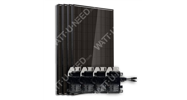 Kit 4 panels self-consumption / reinjection 1000w without stockage