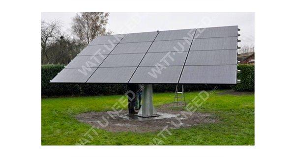 Suiveur Photovoltaïque 2 axes 16 panneaux