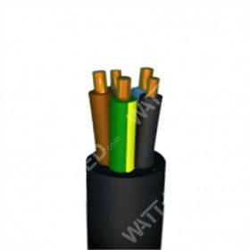 Câble souple Néoprène noir H07RN-F 4 mm² 450/750V - au mètre