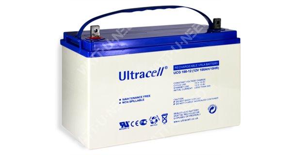 Solar battery Gel Ultracell 12V 100Ah