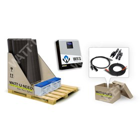 Kit self-consumption 2 panels with storage 1kVA