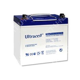 Ultracell 12V 55Ah GEL battery