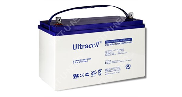 Batterie GEL Ultracell 12V 100Ah
