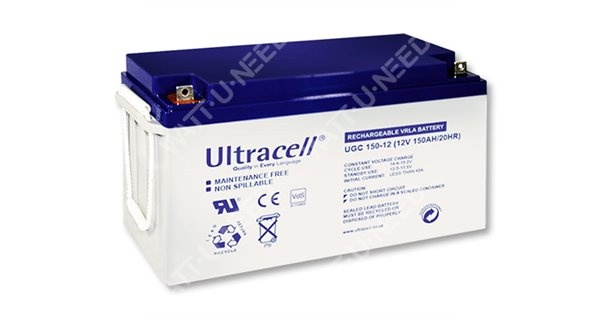 Ultracel GEL battery 12V 150Ah