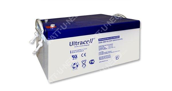 Ultracel GEL battery 12V 250Ah