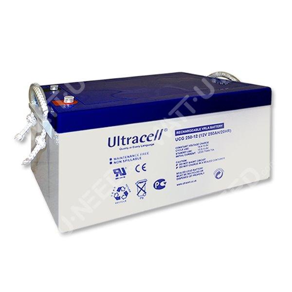 Photovoltaic Battery Ultracel Gel Battery 12v 250ah