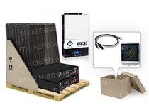 Kit autoconsommation 6 panneaux 5kVA lithium