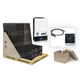 6 panels self-consumption kit 5kVA lithium