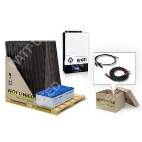 Self-consumption kit 5kVA 12 solar panels
