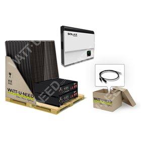 Self-consumption Kit 20 panels 5kVA LITHIUM and Solax