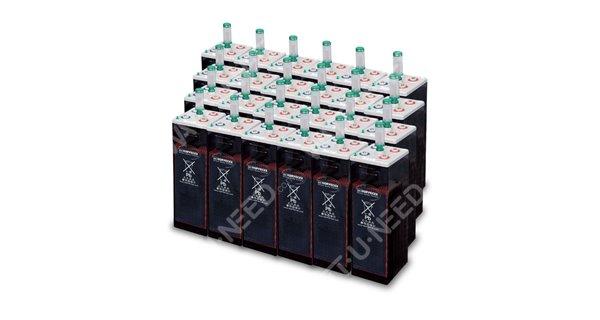 Kit autoconsommation 72 panneaux 30kVA avec stockage