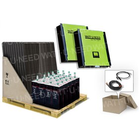 Self-consumption Kit 72 panels 20kVA storage and Reinjection