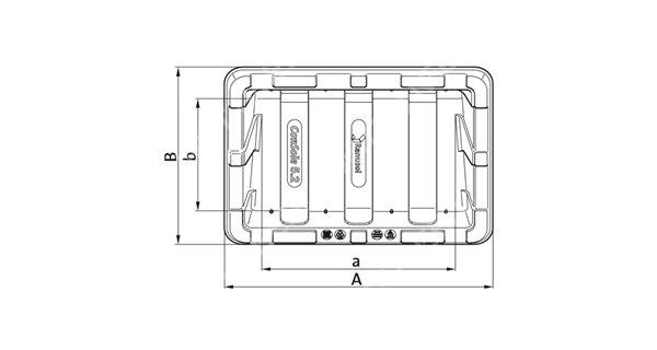 Ballast tank for Renusol solar panel console+