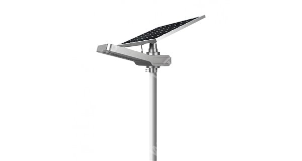 Solar lamp post - LED autonomous WU 15W 18V