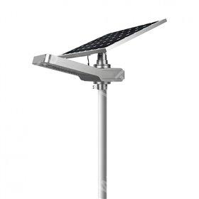 Solar floor lamp - AUTONOMOUS LED WU 50W 18V - Panel 150W
