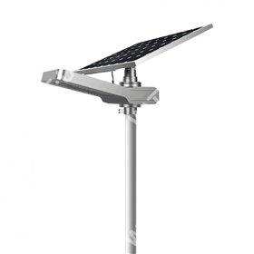 Lampadaire solaire - LED autonome WU 50W 18V - Panneau 150W Promo