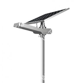 Lampadaire solaire - LED autonome WU 30W 18V - Panneau 80W Promo