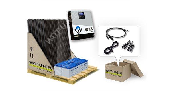 Kit autoconsommation 6 panneaux WKS II 5kVA PROMO avec stockage
