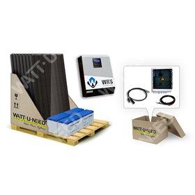 Self-consumption Kit 9 solar panels 3kVA with storage
