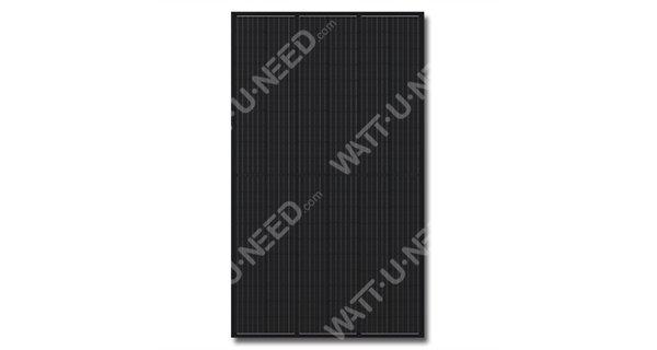 Q.Cells DUO 310Wc mono solar panel black full