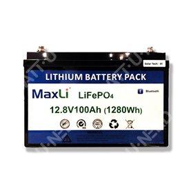 Batterie lithium MaxLi 12.8V 100Ah
