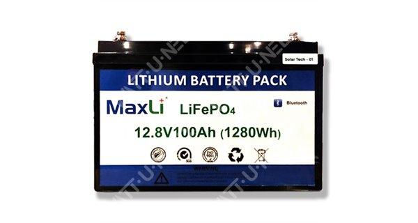 SolarFam SX 12.8V 100Ah lithium battery