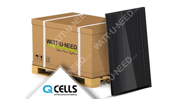 32X Solar Panels 335Wc Mono - Q.Cells DUO-G6 Full Black