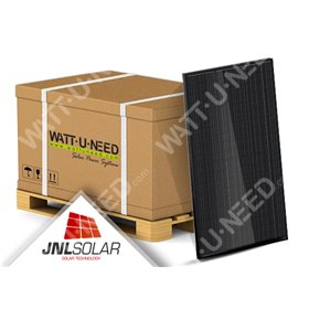 30X Solar Panels 300 Wc Mono - JNL Solar full black